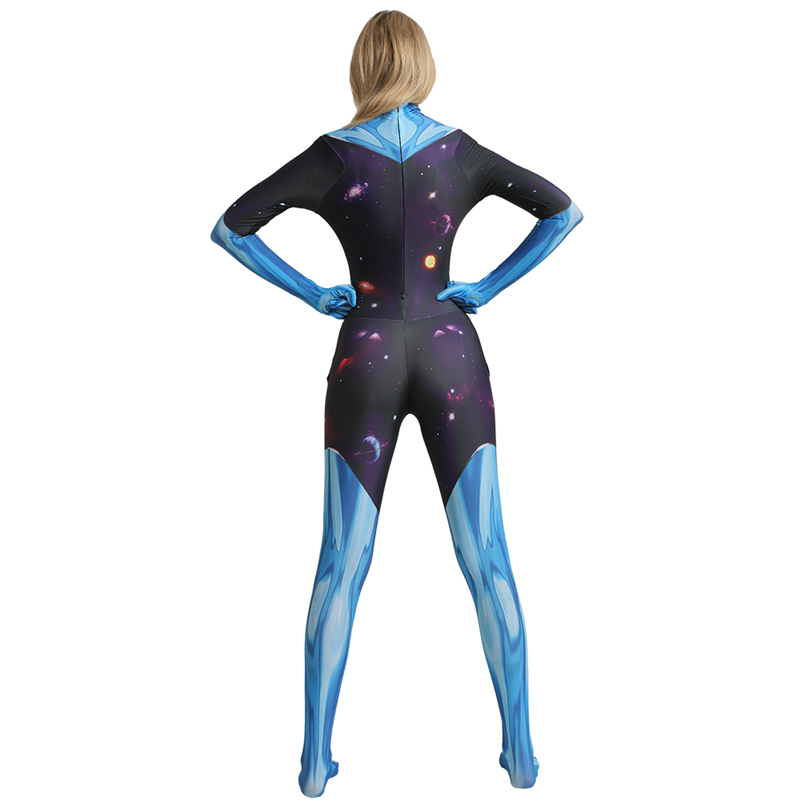 Rick And Morty Supernova Cosplay Costumes For Women Kids Halloween Costume For Adult Children Jumpsuit Suit