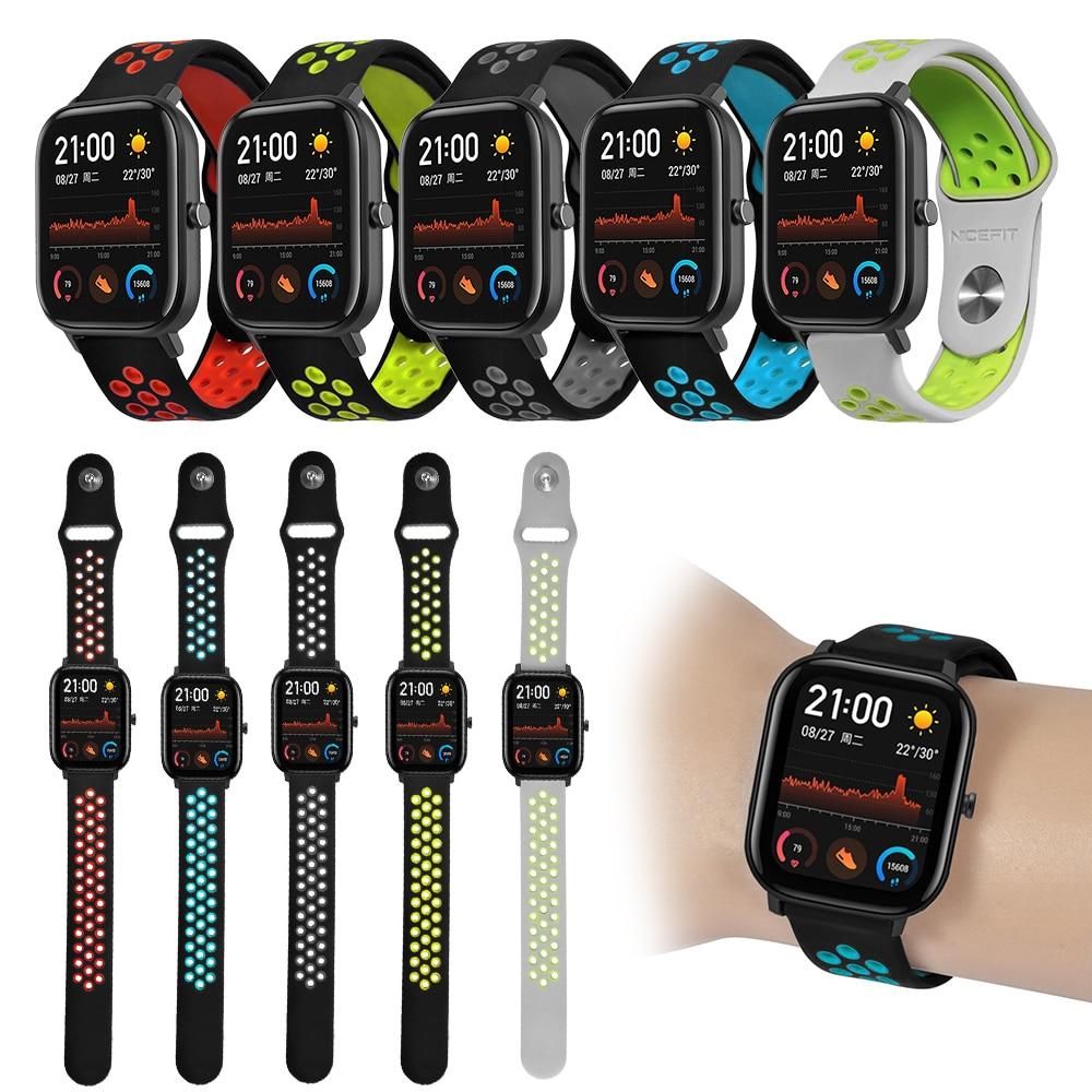 Lüften Sport Weichen Armband Handgelenk Für Huami Amazfit GTS Armband Band Smart Uhr Zubehör Smart Uhr Strap Ersatz