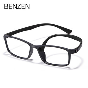 Image 4 - BENZEN באיכות משקפיים מסגרת גברים נשים Ultralight משקפיים אופטיים מסגרת כיכר מרשם משקפיים 5196