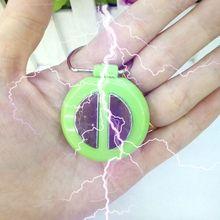 Kids Toys Electric-Shock-Toys Keychain Joke-Toy Game Gift Shake-Hands Prank Anti-Stress