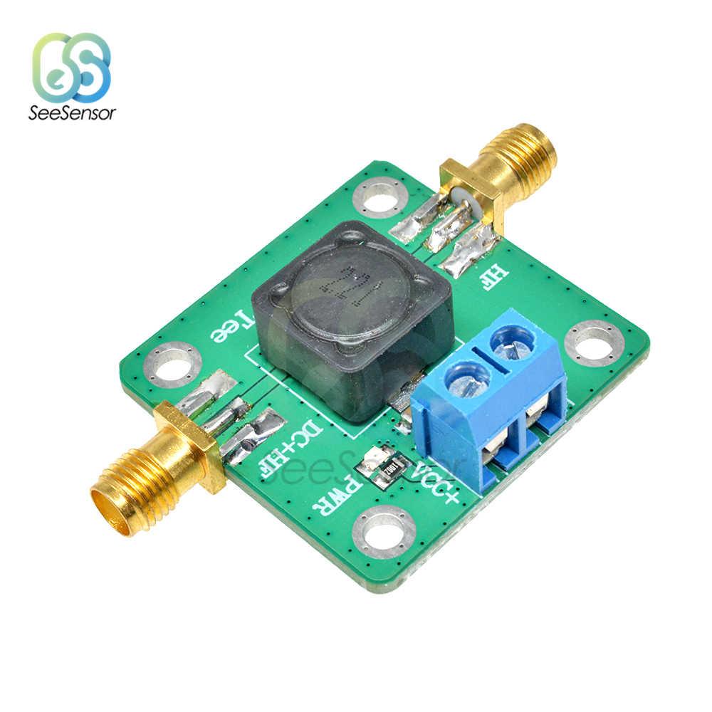 HF odchylenie Tee 50 K-60 MHz RF mikrofalowa Dc podajnik do fale krótkie RTL SDR LNA HAM Radio antena wzmacniacza