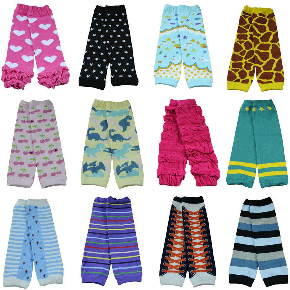 Colorful Baby Toddler Girl Boy Flower Stripe Long Socks Tights Arm Leg Warmers WATXW0003