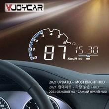 Vjoycar – écran tête haute VH300 pour voiture, affichage tête haute OBD II EUOBD, compteur de vitesse, projecteur électronique de voiture, alarme de survitesse, 5.5 pouces