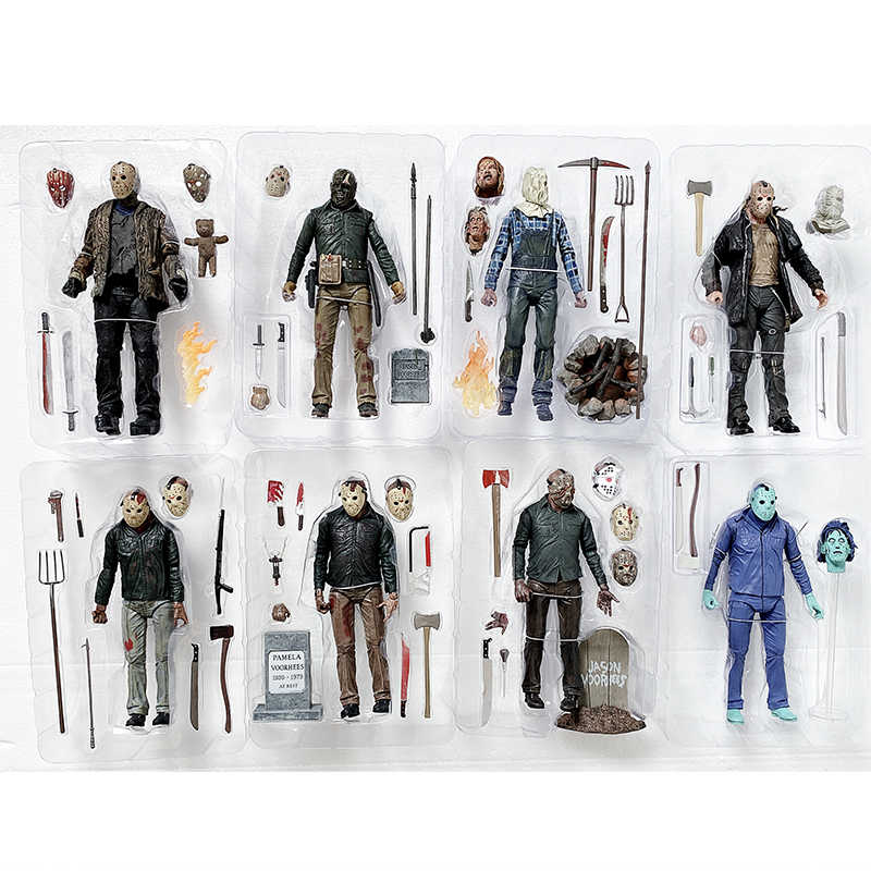 Neca Friday The 13th Speelgoed Neca Action Figure Freddy Jason Voorhees Action Figures Speelgoed Pop Horror Figuur Gift