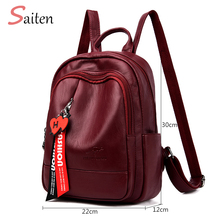 Brand New Women Backpack Women's PU Leather Backpacks School Bag for Teenagers Girls New Fashion backpack Travel shoulder Bags недорго, оригинальная цена