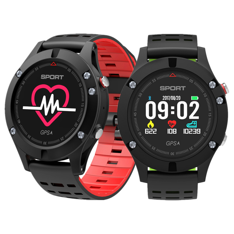Original F5 Smart Watch with GPS Heart Rate Monitor smartWatch Waterproof Watch Wristband Sport fitness tracker for Android  IOS