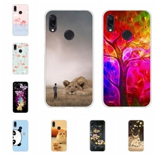 For Xiaomi Redmi 3 3s Case Soft TPU Silicone Note 4 4X 7 Pro Cover Lion Patterned Go Shell