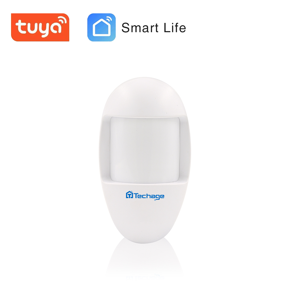 Techage Wireless Alarm Infrared  Anti-Pet PIR Sensor With Long  Distance For Techage Alarm System