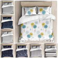 Ins simple small fresh style bedding set printed DUVET SET bedding set bedding double bed large double bed bedding set double tango 073 70