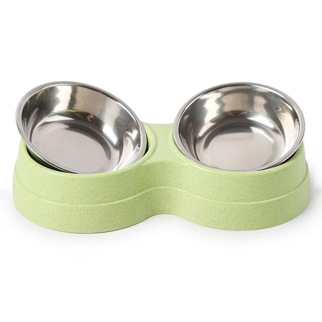 Dog Double Pet Bowls  5