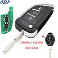 Откидной модифицированный дистанционный ключ для BMW 1/3/5/7 серии X3 X5 Z3 Z4 бесключевой доступ для системы EWS 315 МГц или 433 МГц ID44 HU58