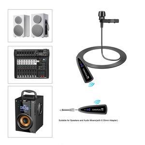 Image 5 - KIMAFUN 2.4G lavalier 40 50m Senza Fili Microfono Headhold per Amplificatore di Voce iphone per Youtube registrazione insegnamento microfoni
