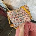 Jiulin 2019 nova versão chaohan 100 volta slant saco cor trançado pacote de corrente gás estrangeiro