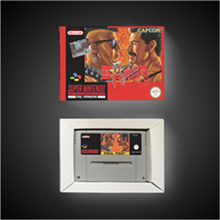 Final Fight   EUR Version Action Game Card with Retail Box