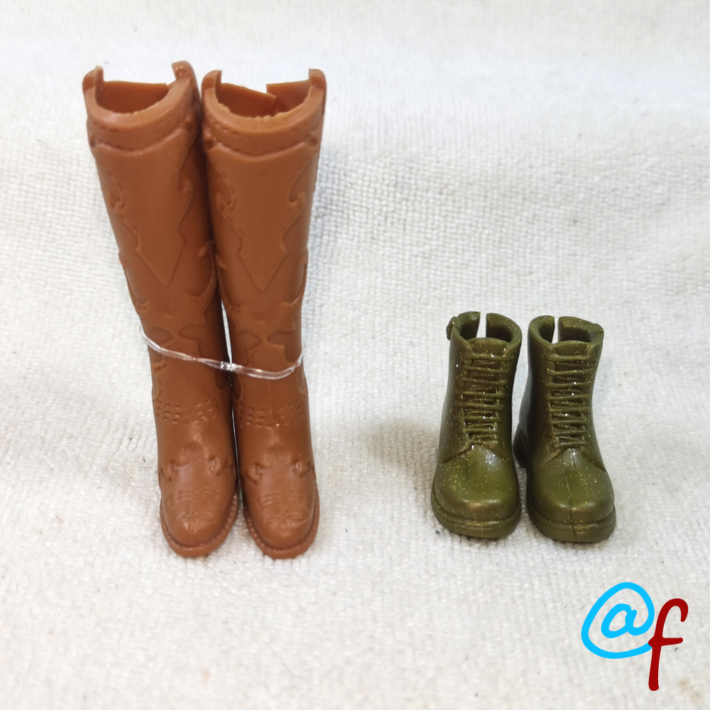 Doll High-heeled Shoes Or Boots Original Foreign Trade Beauty 1/6 30cm OOAK NUDE Doll Accessories