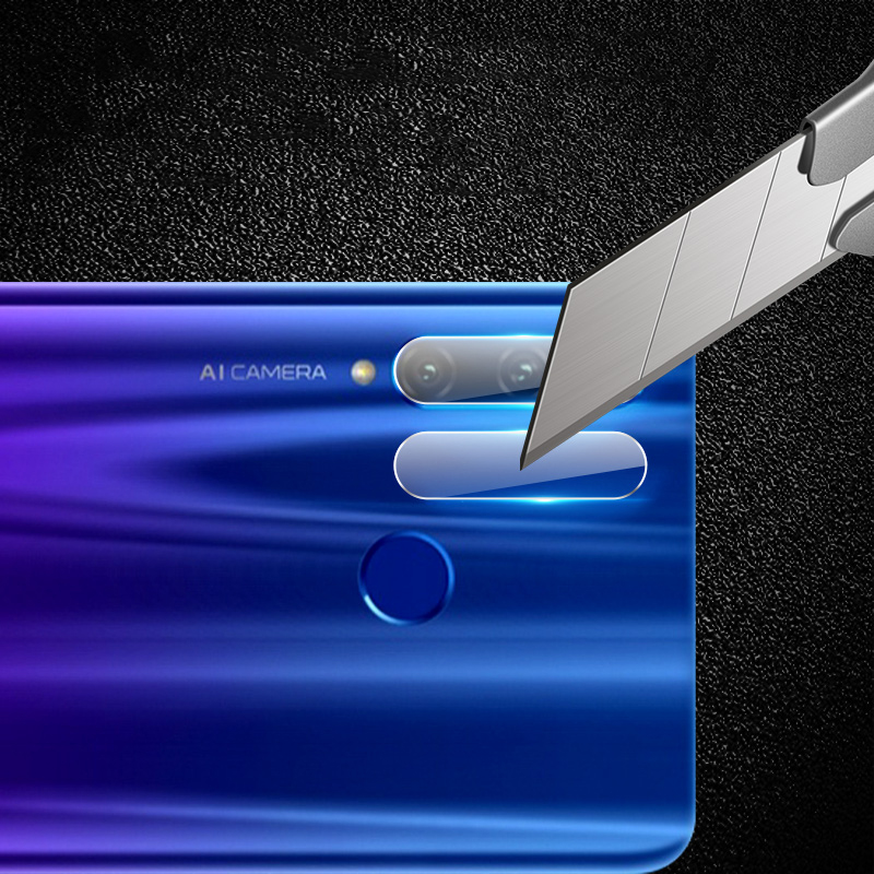 Image 3 - 2in1 protective glass for huawei honor 10i tempered glas on huwei honer 10 i honor10i HRY LX1T camera lens screen protector film-in Phone Screen Protectors from Cellphones & Telecommunications