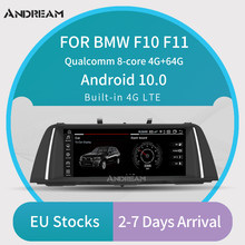 "Andream Android 10.0 GPS di Navigazione per Auto Auto Radio Lettore Multimediale Per BMW Serie 5 F10 F11 F18 Qualcomm 8 Core IPS da 10.25""(China)"