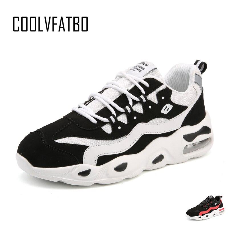 COOLVFATBOAir Mens Running Shoes Cushioning Unique Design Breathable Sport Shoes Outdoor Sneakers Men Zapatos De Hombre