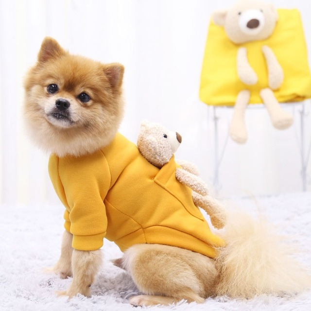 Welpen-Kleidung Haustier Hundebekleidung Hunde-Kleid,unifarben Hundepullover,/ärmellos Hunde Pullover,Baumwolle Mantel Kleidung T-Shirt Shirt