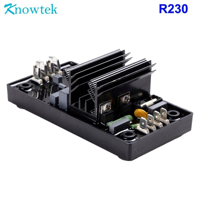 AVR R230 Automatic Voltage Regulator For Generator Genset Volt Regulation