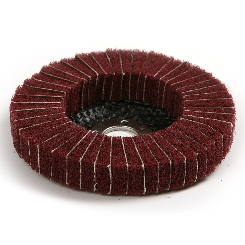 Nylon Fiber Wheel Abrasive Polishing Buffing Disc Dia 100mm Grit 240