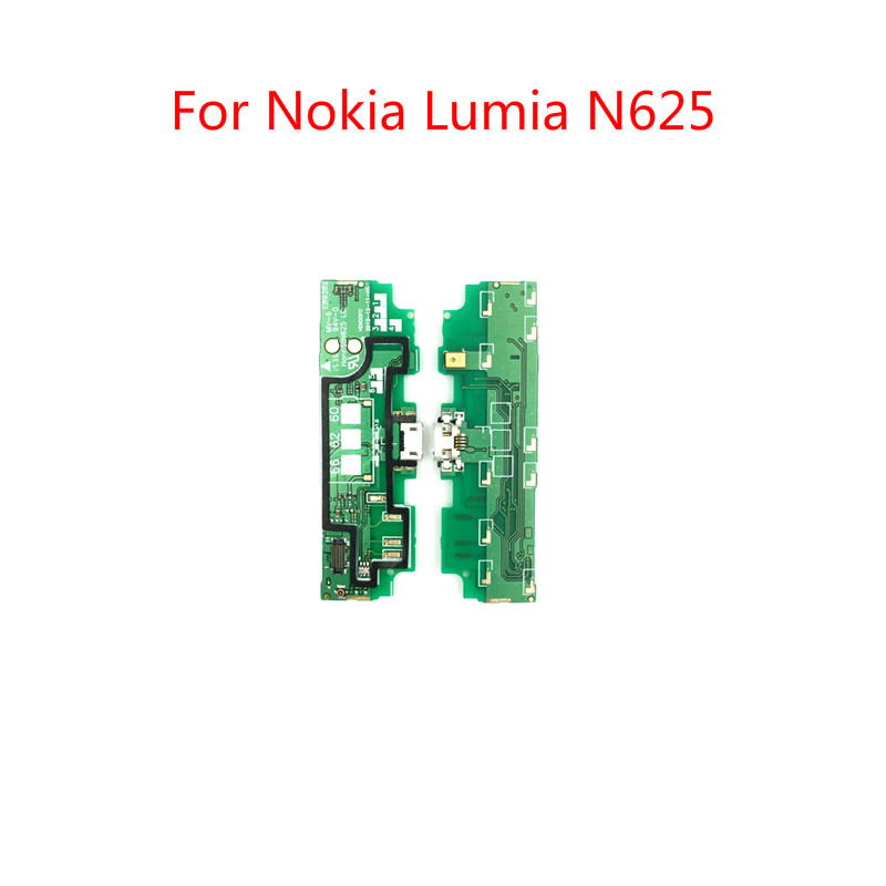 Top quality For <font><b>Nokia</b></font> <font><b>Lumia</b></font> <font><b>625</b></font> N625 <font><b>USB</b></font> <font><b>Charging</b></font> Charge <font><b>Port</b></font> Board plug dock Connector Microphone Module Flex Cable Parts image