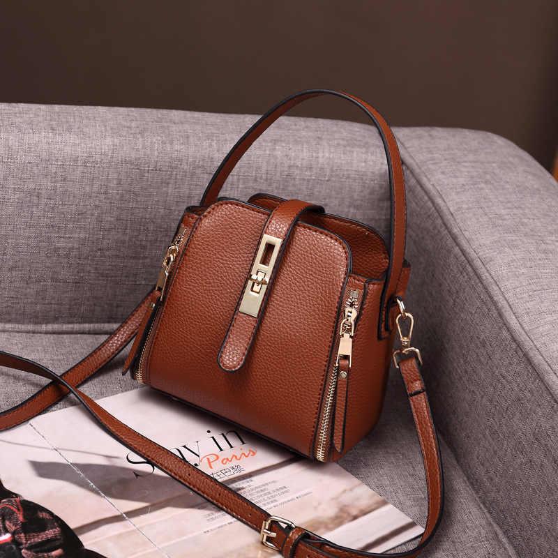 العلامة التجارية نساء موضة حقائب كتف صغيرة رسول حقائب كروسبودي جلد طبيعي Crossbody رفرف حقيبة السيدات حقائب للبنات C1168