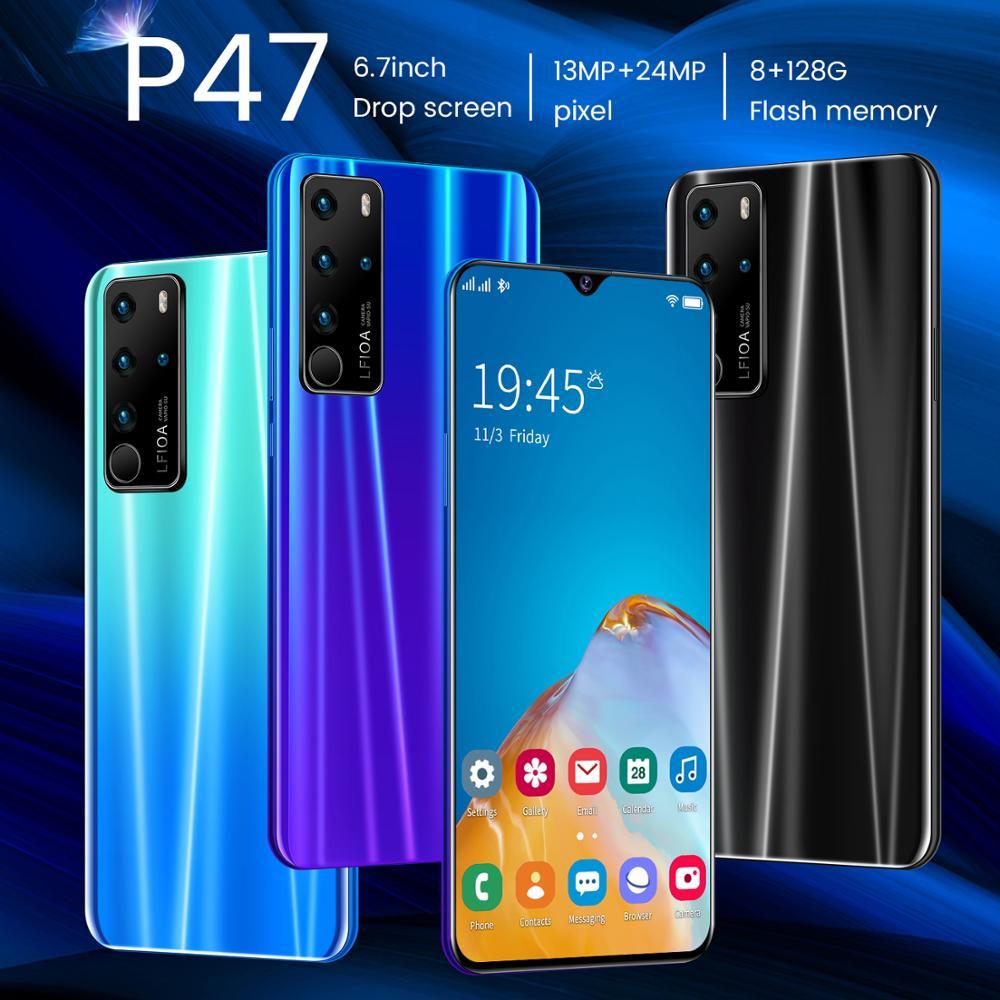 6,7 дюймов P47 разрешение HD Real 2 Гб Оперативная память + 32 ГБ Встроенная память смартфон MTK6572 True в виде капли воды, Дисплей 2MP + 5 Мп камеры 3G разблокирован|MP3-плееры|   | АлиЭкспресс