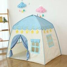 Игра палатка подарок детский дом игрушка Крытый Принцесса День Рождения Ребенка Девочки Кукла маленький цветок крест