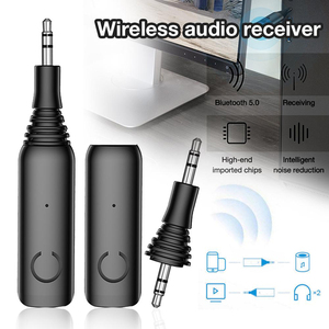 Image 2 - DISOUR Lage latency Bluetooth Ontvanger 5.0 APTX LL/AAC/SBC 3.5mm AUX RCA Audio Draadloze Adapter Voor handsFree Car Kit Zender