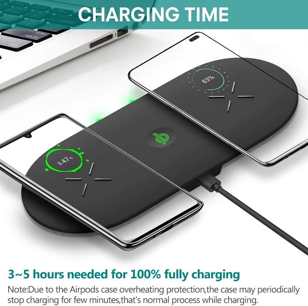 10W Wireless Charger For iPhone 11Pro XR XS MAX Fast Wireless Full load 3 in 1 Charging Pad For Apple Watch 5 4 3 For Airpods