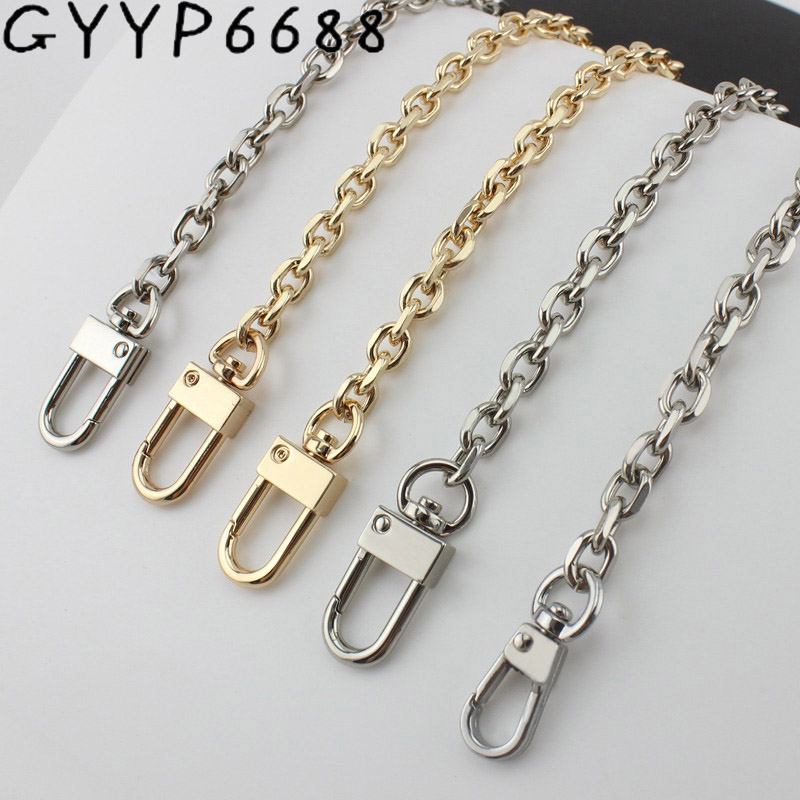 Width 7.5mm Small Bag Grinding Chain Chain Single Buy Gold Fashion Metal Shoulder Strap Diagonal Cross Belt New