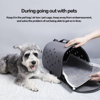 Odor-control Bamboo Carbon Pet Pee Training Underpad Pet Pee Absorbent Odor Reducing Disposable Pad 2
