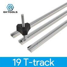 Gktools Тип 19 t трек алюминиевый деревообрабатывающий Т слот
