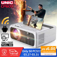 El Centro de CP600 55W Full HD 1080P Proyector 4K 8000 lúmenes cine Proyector Beamer para android, wifi, hdmi VGA AV Puerto USB