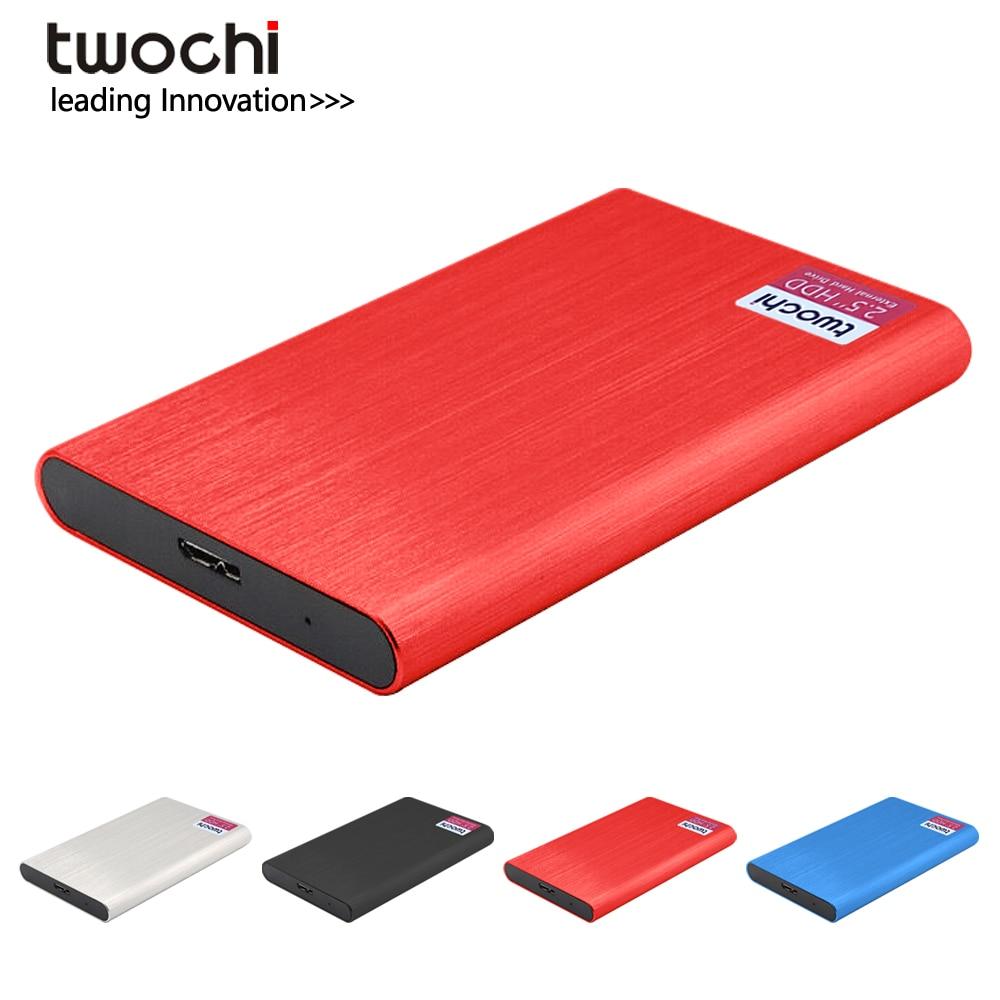2,5-дюймовый внешний жесткий диск 2 ТБ 2,5G 500G, внешний жесткий диск USB 320 HD 160 Гб, Портативный диск для ПК/Mac Plug and play