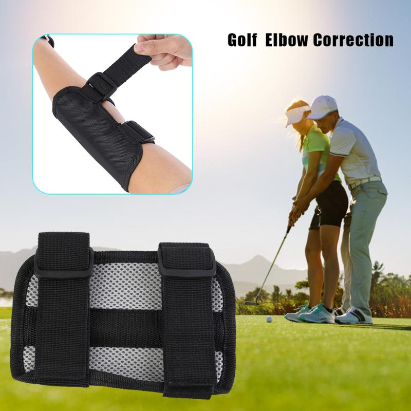 Golf Swing Elbow Support Corrector Wrist Brace Practice Posture Correction Appliance Golf Training Aid Accessories