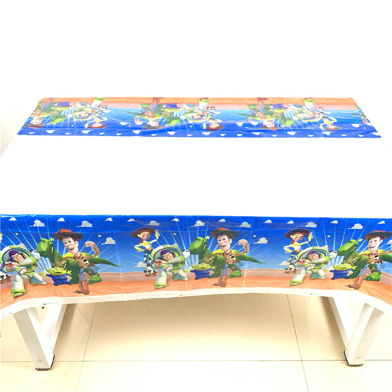 1pcs Toy Story Tablecloth Baby Shower Toy Story Tablecloth Birthday Party Decoration Supplies Toy Story Theme Party Table Cover