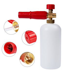 Image 2 - 高圧洗浄機雪の泡ランス、泡発生器karcherボッシュためlavorためデッカー、洗車機発泡銃