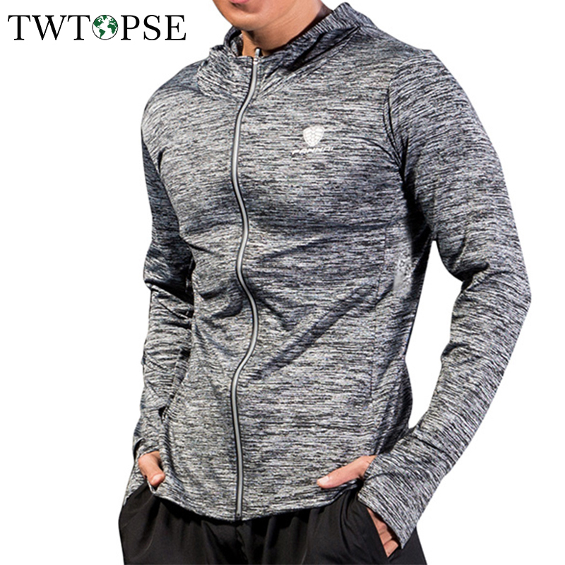 TWTOPSE Coat Table-Tennis-Jerseys Sports Men Jacket Bike Windbreak Hooded Cycling GYM title=