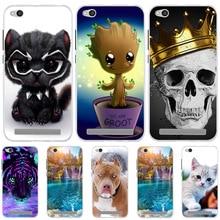 For Xiaomi Redmi 4A 5A 6A Case Cover Silicone Xiomi Xioami Redmi5a Phone Cases