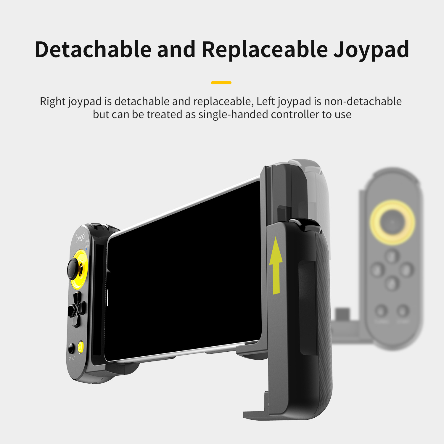 Ipega pg9167 gamepad bluetooth wireless joystick trigger stretchable game controller gamepad for android ios pc