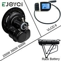 Tongsheng tsdz2 ebike kit 36 v 250 w display luz meados de manivela motor elétrico bicicleta kit de cobertura com bateria funcion|Motor p/ bicicleta elétrica| |  -