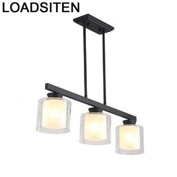 Nórdicos cocina Industrieel Deco Chambre Fille Lampara De Techo Colgante Moderna Lampen suspensión Moderna luminaria, lámpara Colgante