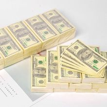 Handkerchief Money-Napkin Tissue-Paper Disposable-Towel Party Tableware Dollar-Pattern