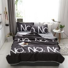 Bedding Set Summer Quilt 4Pcs/Set 20 Style Bed Sheet Aloe Cotton Love Lattice Pink Panther Home Textile Products