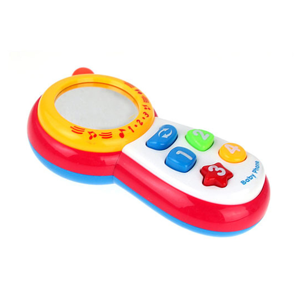Baby Toys With Sound And Light / Child Music Phone / Learning Study Baby Cell Phone Toy / Educational Toy