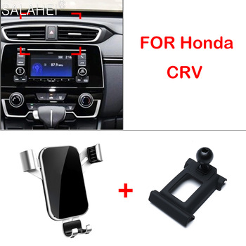 Mobile Phone Holder For Honda CRV CR-V 2017 2018 2019 Air Vent Mount Bracket GPS Phone Holder Clip Stand in Car Accessories image