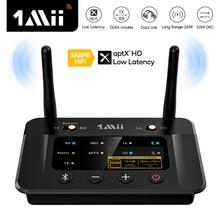 1Mii B03Pro Bluetooth 5.0 Transmitter Receiver aptX LL HD CSR8675 HiFi 32bit DAC 3.5mm Aux Bluetooth Adapter for TV PC Headphone