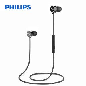 Image 1 - Original Philips TAUN102 Bluetooth 5.0 In ear casque suspendu cou magnétique pour le sport avec Support micro vérification officielle